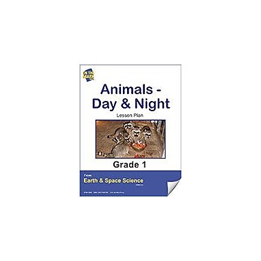 On The Mark Press Animals, Day and Night Gr. 1 Science Workbook, Grade 1 [eBook]