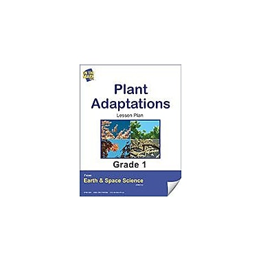 On The Mark Press Plant Adaptations Gr. 1 Science Workbook, Grade 1 [eBook]