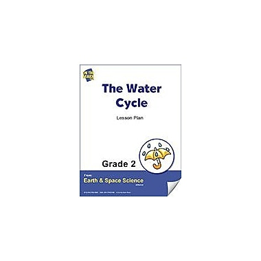 On The Mark Press The Water Cycle Gr. 2 Science Workbook, Grade 2 [eBook]