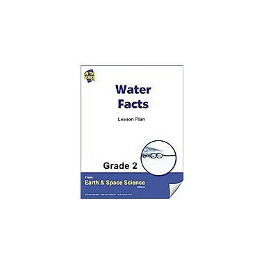 On The Mark Press Water Facts Gr. 2 Science Workbook, Grade 2 [eBook]
