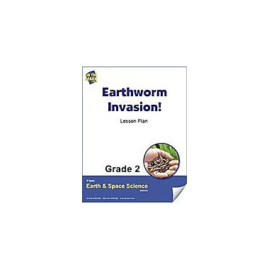 On The Mark Press Earthworm Invasion! Gr. 2 Science Workbook, Grade 2 [eBook]