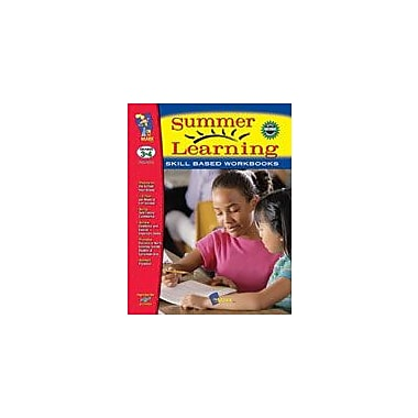 On The Mark Press Summer Learning Grades 3-4 Language Arts Workbook, Grade 3 - Grade 4 [eBook]