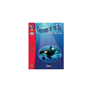 On The Mark Press Creatures of the Sea Science Workbook, Grade 2 - Grade 4 [eBook]