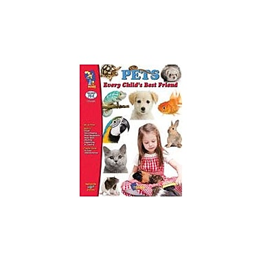 On The Mark Press Pets, Every Child's Best Friend Science Workbook, Preschool - Kindergarten [eBook]