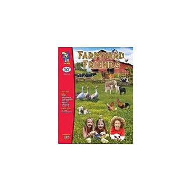 On The Mark Press Farmyard Friends Science Workbook, Preschool - Kindergarten [eBook]