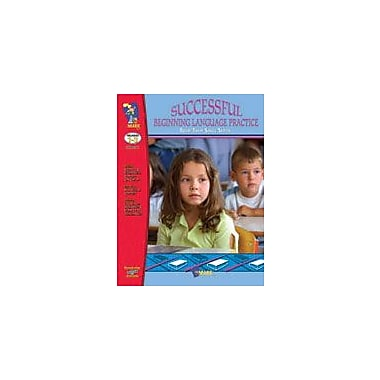 On The Mark Press Successful Beginning Language Practice Language Arts Workbook, Grade 1 - Grade 3 [eBook]