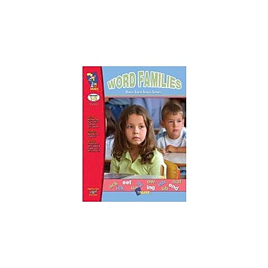 On The Mark Press Build Their Skills: Word Families Language Arts Workbook, Grade 1 - Grade 3 [eBook]
