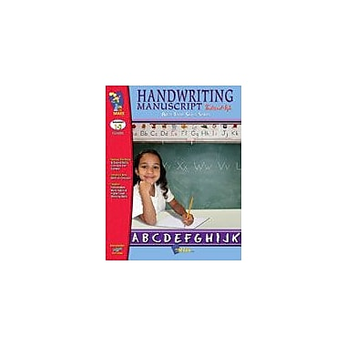 On The Mark Press Build Their Skills: Handwriting Manuscript, Traditional Style Workbook, Grade 1 - Grade 3 [Enhanced eBook]