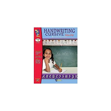 On The Mark Press Build Their Skills: Handwriting Cursive, Traditional Style Workbook, Grade 1 - Grade 3 [Enhanced eBook]