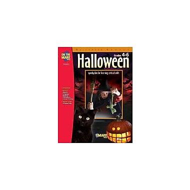 On The Mark Press Halloween Other Workbook, Grade 4 - Grade 6 [eBook]