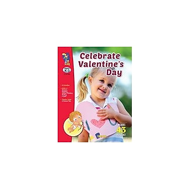 On The Mark Press Celebrate Valentine's Day Social Studies Workbook, Kindergarten - Grade 3 [Enhanced eBook]