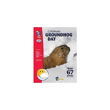 On The Mark Press Celebrate Groundhog Day Math Workbook, Kindergarten - Grade 3 [eBook]
