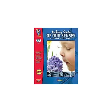 On The Mark Press Making Sense of Our Senses Science Workbook, Kindergarten - Grade 1 [eBook]