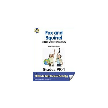 On The Mark Press Fox and Squirrel Lesson Plan Physical Education Workbook, Kindergarten - Grade 8 [eBook]