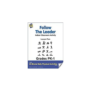 On The Mark Press Follow the Leader Lesson Plan Physical Education Workbook, Kindergarten - Grade 8 [eBook]