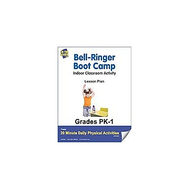 On The Mark Press Bell-Ringer Boot Camp Lesson Plan Physical Education Workbook, Kindergarten - Grade 8 [eBook]