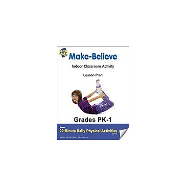 On The Mark Press Make-Believe Lesson Plan Physical Education Workbook, Kindergarten - Grade 8 [eBook]