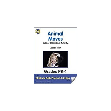 On The Mark Press Animal Moves Lesson Plan Physical Education Workbook, Kindergarten - Grade 8 [eBook]