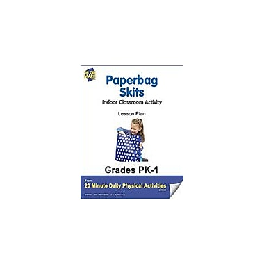 On The Mark Press Paperbag Skits Lesson Plan Physical Education Workbook, Kindergarten - Grade 8 [eBook]