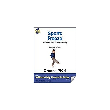On The Mark Press Sports Freeze Lesson Plan Physical Education Workbook, Kindergarten - Grade 8 [eBook]