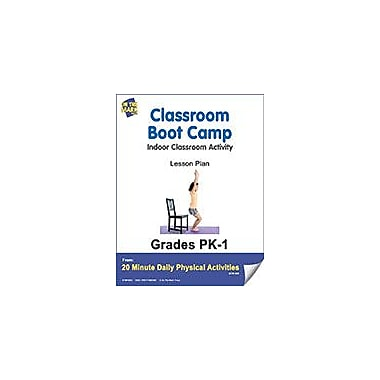 On The Mark Press Classroom Boot Camp Lesson Plan Physical Education Workbook, Kindergarten - Grade 8 [eBook]