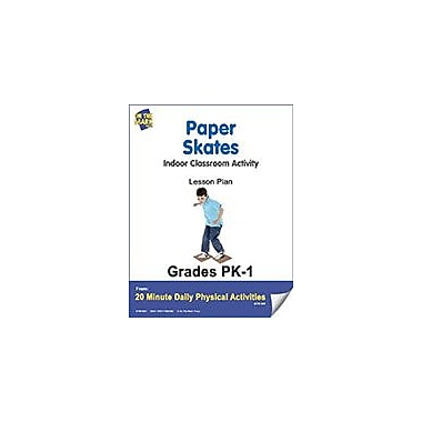 On The Mark Press Paper Skates Lesson Plan Physical Education Workbook, Kindergarten - Grade 8 [eBook]