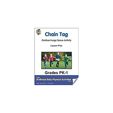 On The Mark Press Chain Tag Lesson Plan Physical Education Workbook, Kindergarten - Grade 8 [eBook]