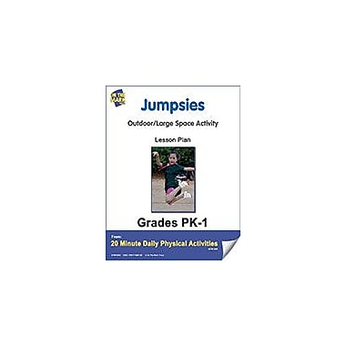 On The Mark Press Jumpsies Lesson Plan Physical Education Workbook, Kindergarten - Grade 8 [eBook]