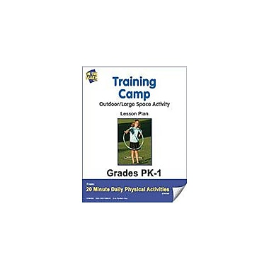 On The Mark Press Training Camp Lesson Plan Physical Education Workbook, Kindergarten - Grade 8 [eBook]