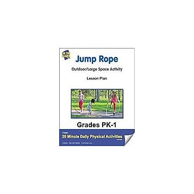 On The Mark Press Jump Rope Lesson Plan Physical Education Workbook, Kindergarten - Grade 8 [eBook]