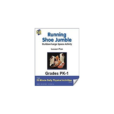 On The Mark Press Running Shoe Jumble Lesson Plan Physical Education Workbook, Kindergarten - Grade 8 [eBook]