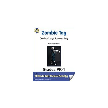 On The Mark Press Zombie Tag Lesson Plan Physical Education Workbook, Kindergarten - Grade 8 [eBook]
