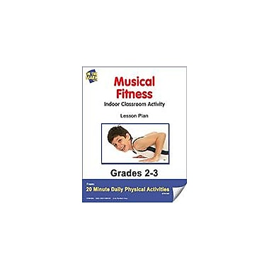 On The Mark Press Musical Fitness Lesson Plan Physical Education Workbook, Grade 2 - Grade 3 [eBook]