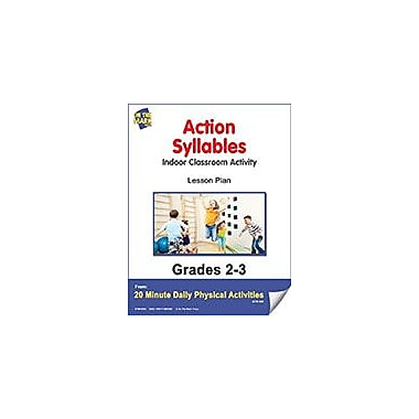 On The Mark Press Action Syllables Lesson Plan Physical Education Workbook, Grade 2 - Grade 3 [eBook]
