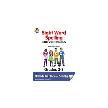 On The Mark Press Sight Word Spelling Lesson Plan Physical Education Workbook, Grade 2 - Grade 3 [eBook]