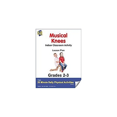 On The Mark Press Musical Knees Lesson Plan Physical Education Workbook, Grade 2 - Grade 3 [eBook]