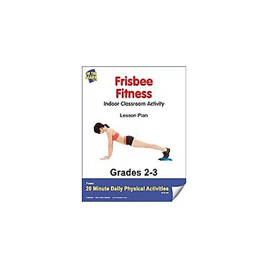 On The Mark Press Frisbee Fitness Lesson Plan Physical Education Workbook, Grade 2 - Grade 3 [eBook]