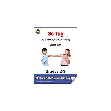 On The Mark Press Go Tag Lesson Plan Physical Education Workbook, Grade 2 - Grade 3 [eBook]