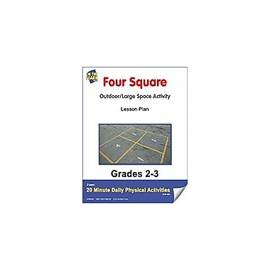 On The Mark Press Four Square Lesson Plan Physical Education Workbook, Grade 2 - Grade 3 [eBook]