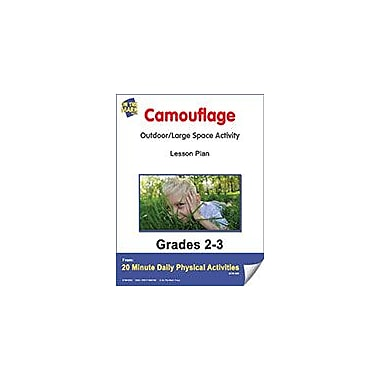 On The Mark Press Camouflage Lesson Plan Physical Education Workbook, Grade 2 - Grade 3 [eBook]