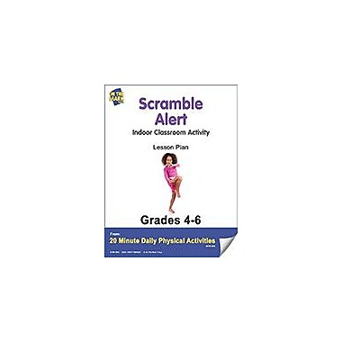 On The Mark Press Scramble Alert Lesson Plan Physical Education Workbook, Grade 4 - Grade 6 [eBook]