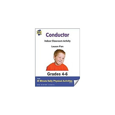 On The Mark Press Conductor Lesson Plan Physical Education Workbook, Grade 4 - Grade 6 [eBook]