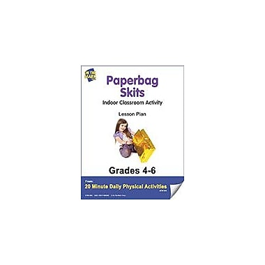 On The Mark Press Paperbag Skits Lesson Plan Physical Education Workbook, Grade 4 - Grade 6 [eBook]
