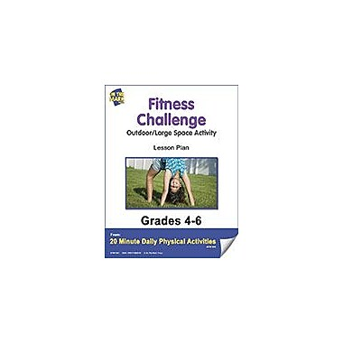 On The Mark Press Fitness Challenge Lesson Plan Physical Education Workbook, Grade 4 - Grade 6 [eBook]