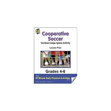 On The Mark Press Cooperative Soccer Lesson Plan Physical Education Workbook, Grade 4 - Grade 6 [eBook]
