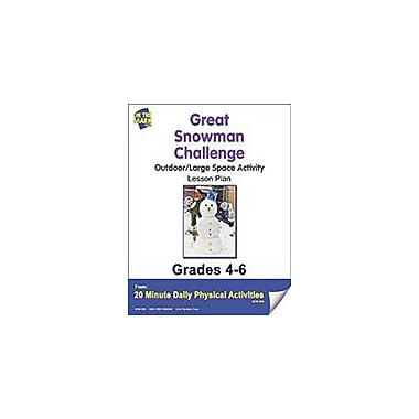 On The Mark Press Great Snowman Challenge Lesson Plan Physical Education Workbook, Grade 4 - Grade 6 [eBook]