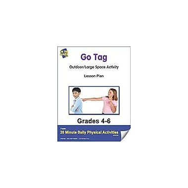 On The Mark Press Go Tag Lesson Plan Physical Education Workbook, Grade 4 - Grade 6 [eBook]