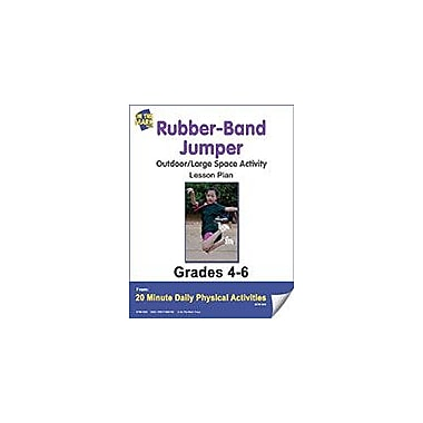 On The Mark Press Rubber-Band Jumper Lesson Plan Physical Education Workbook, Grade 4 - Grade 5 [eBook]