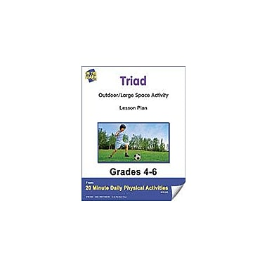 On The Mark Press Triad Lesson Plan Physical Education Workbook, Grade 4 - Grade 6 [eBook]