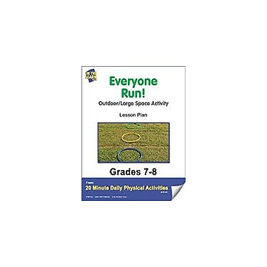 On The Mark Press Everyone Run! Lesson Plan Physical Education Workbook, Grade 7 - Grade 8 [eBook]